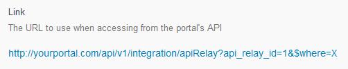 API Relay Link