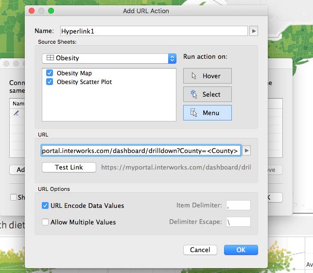 Add URL Action