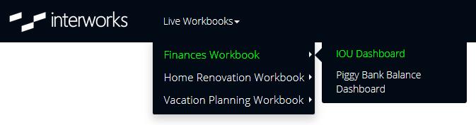Portals for Tableau - Link Workbooks