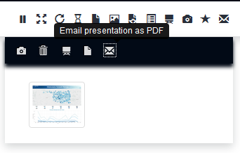 Email presentation as PDF
