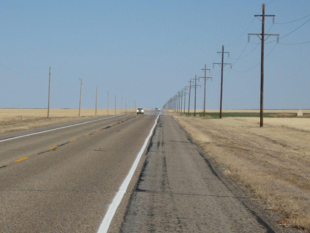 Highway Outside of Guymon, OK