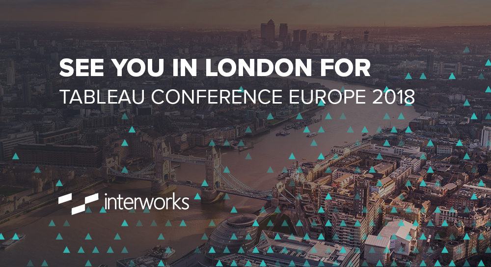 See You in London for Tableau Conference Europe 2018