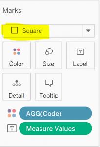 Square Mark Type
