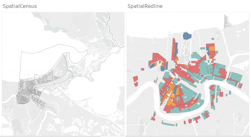 Separate Spatial Files in Tableau