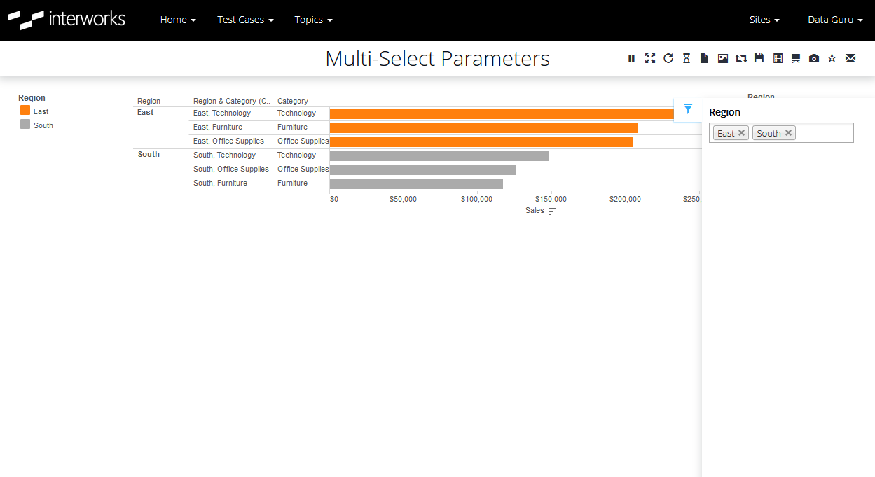 5 Steps to Enabling a Multi-Select Parameter Control in Tableau