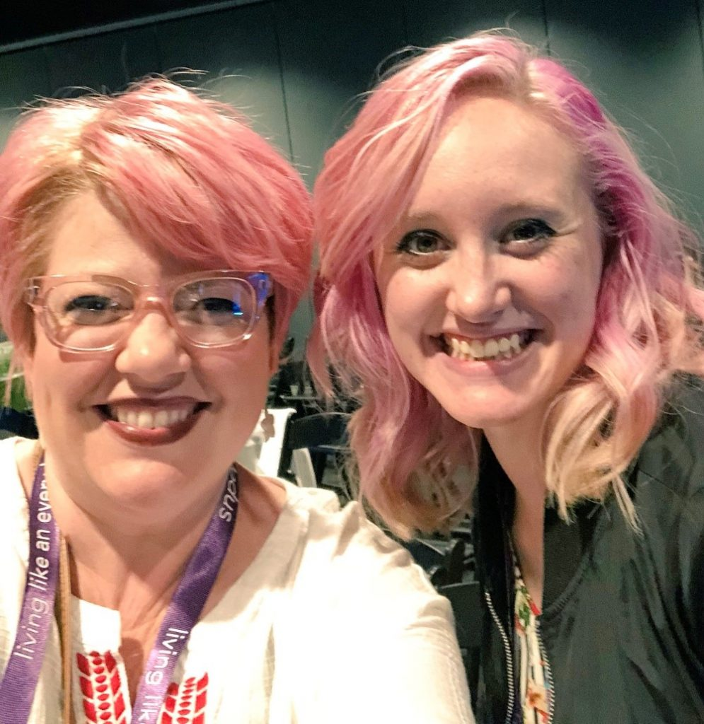 Pink-Haired Ladies of Culture Summit