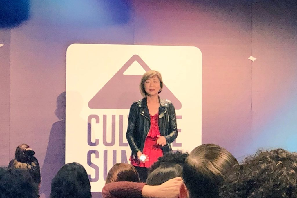 Cat Lee of Pinterest at Culture Summit 2018