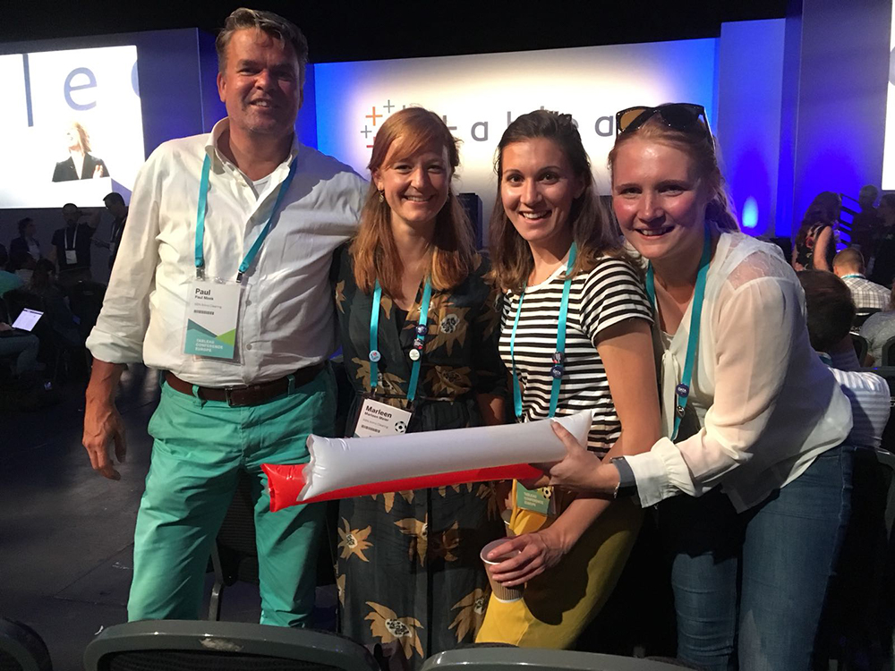 The ABN AMRO Team at TC18 Europe in London