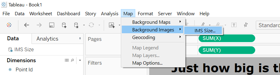 Map to Background Images
