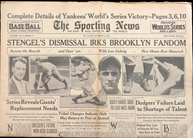 Sporting News Baseball Paper