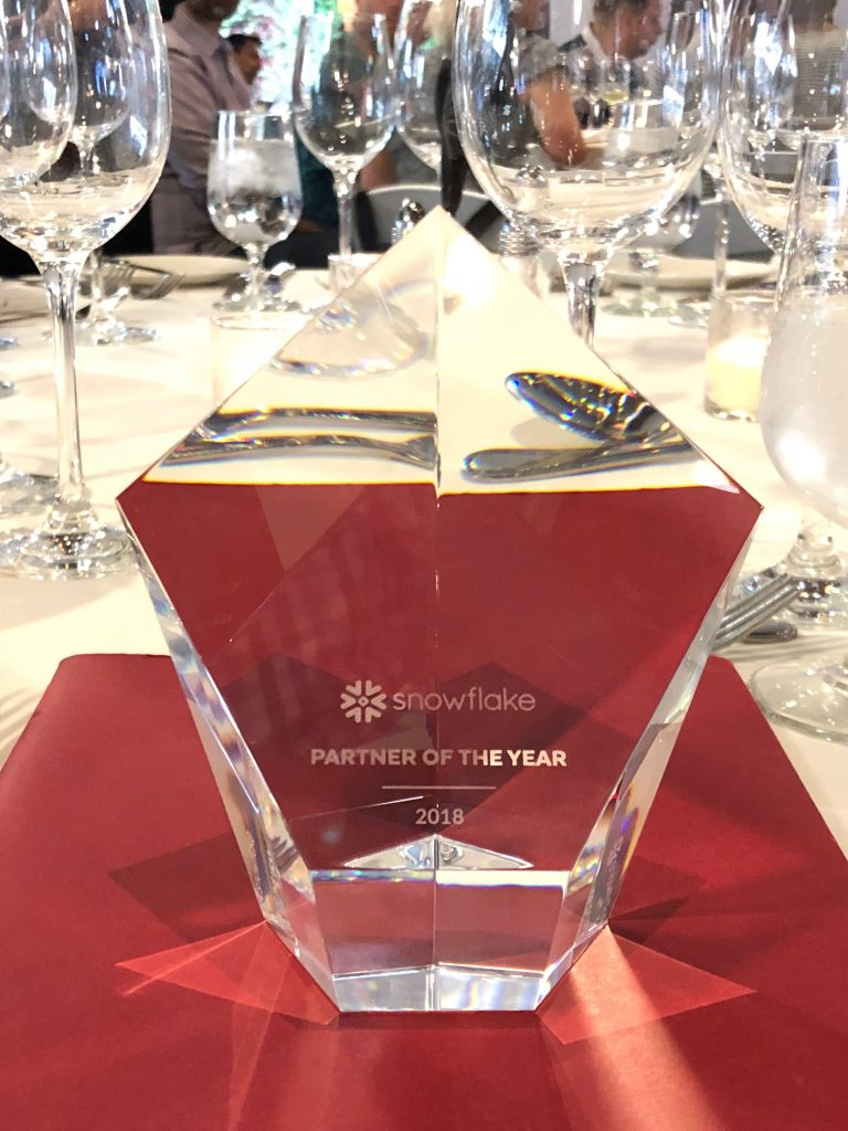 InterWorks' Snowflake Solutions Partner of the Year Award