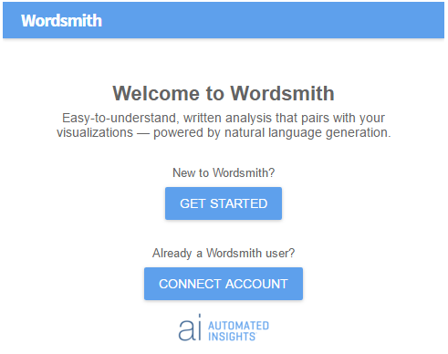 Welcome to Wordsmith