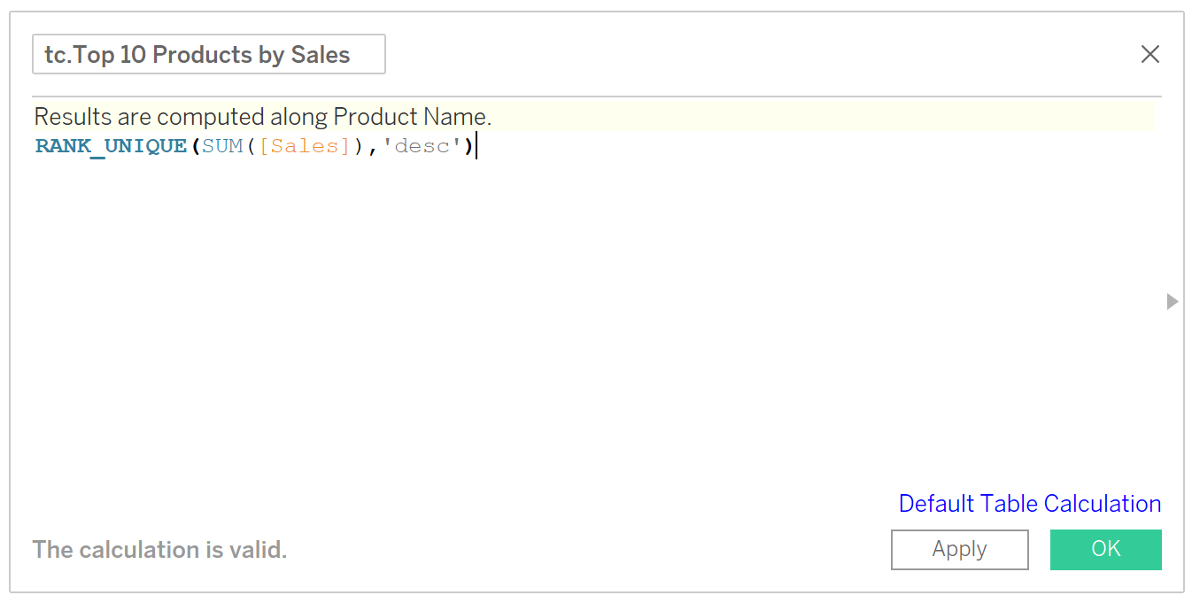 hiding data with calculations in Tableau