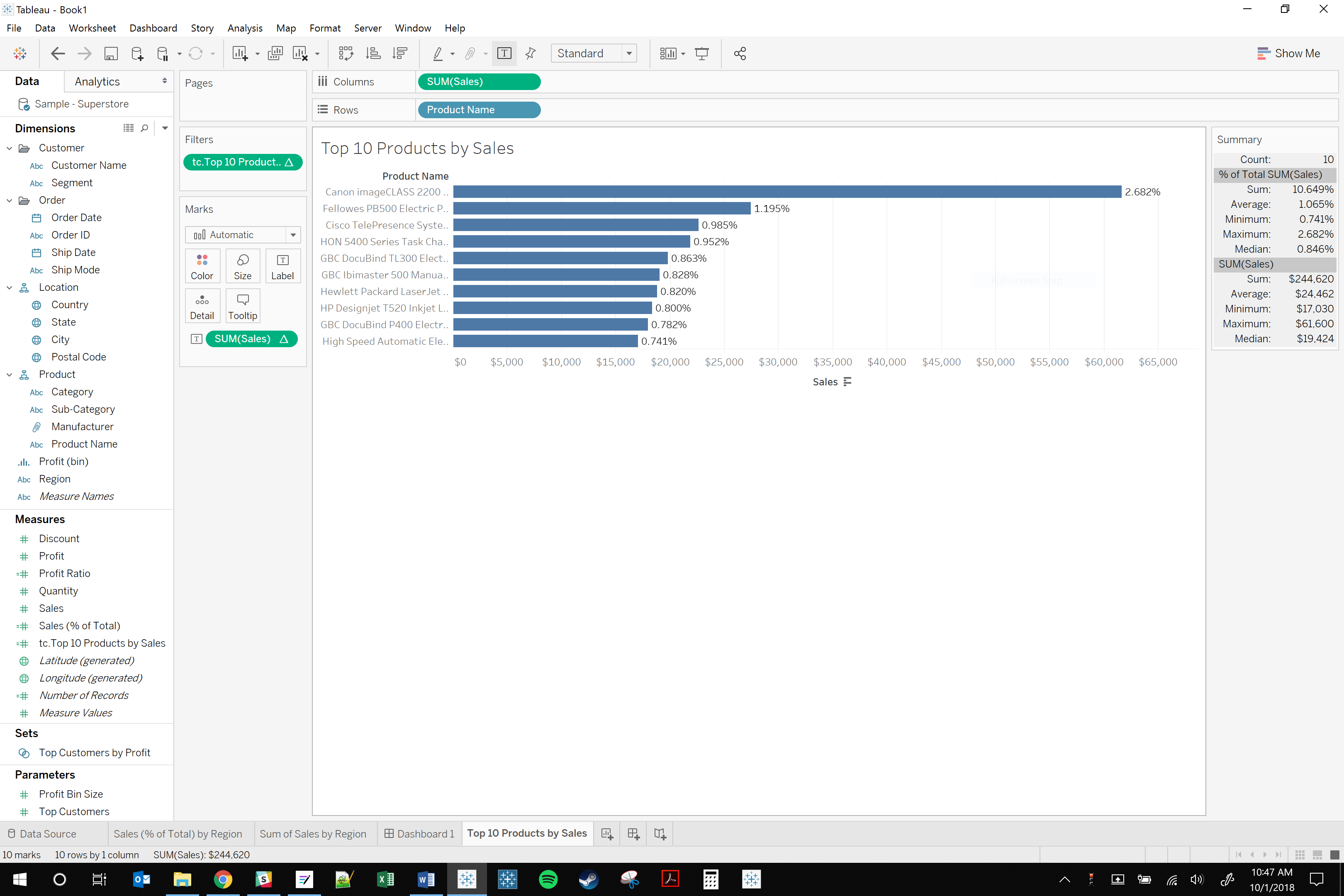 hiding data with filters and calculations in Tableau