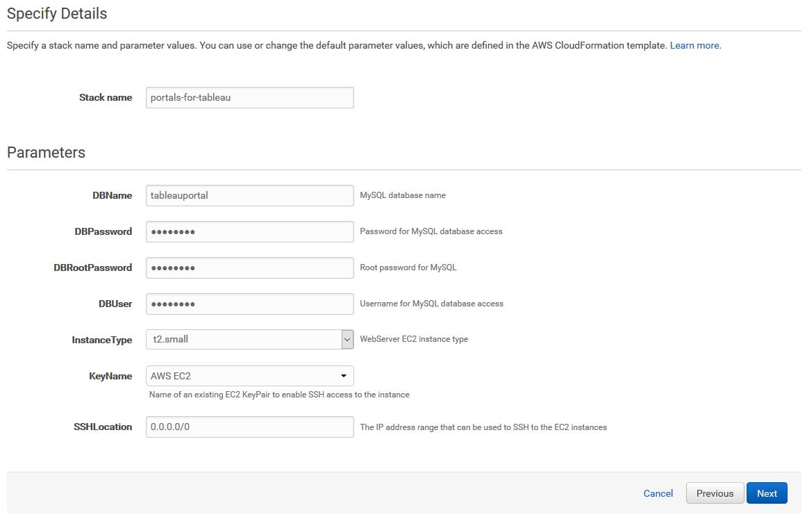 Portals for Tableau 101: AWS CloudFormation | InterWorks