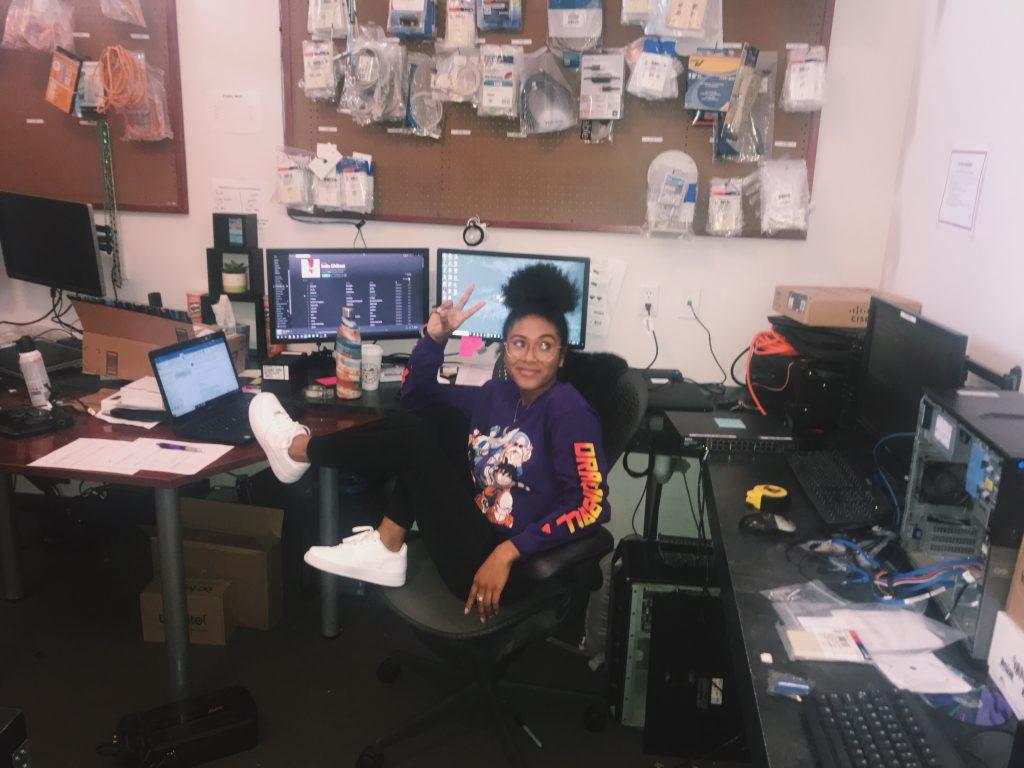 Lyah Barberan Desk