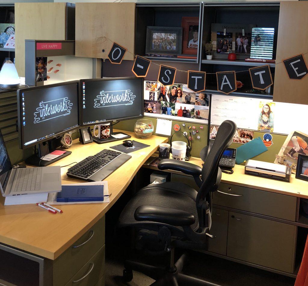 Pam Teel Desk