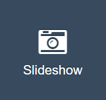 slideshow button in Portals for Tableau