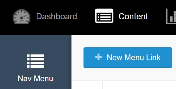 new menu link in Portals for Tableau