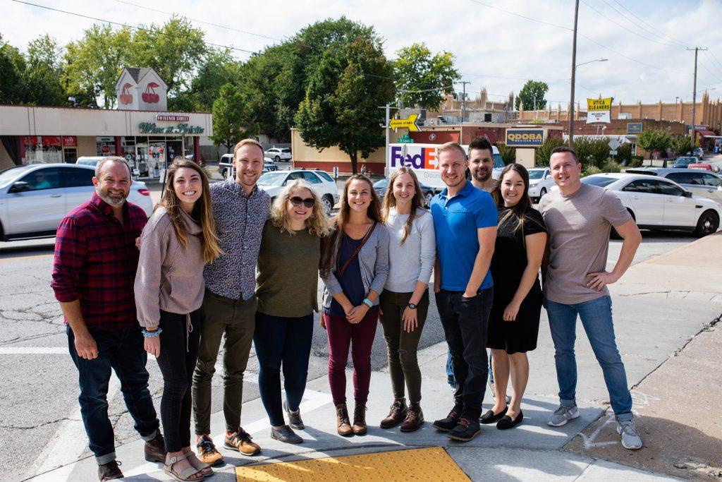 the InterWorks marketing team in Tulsa