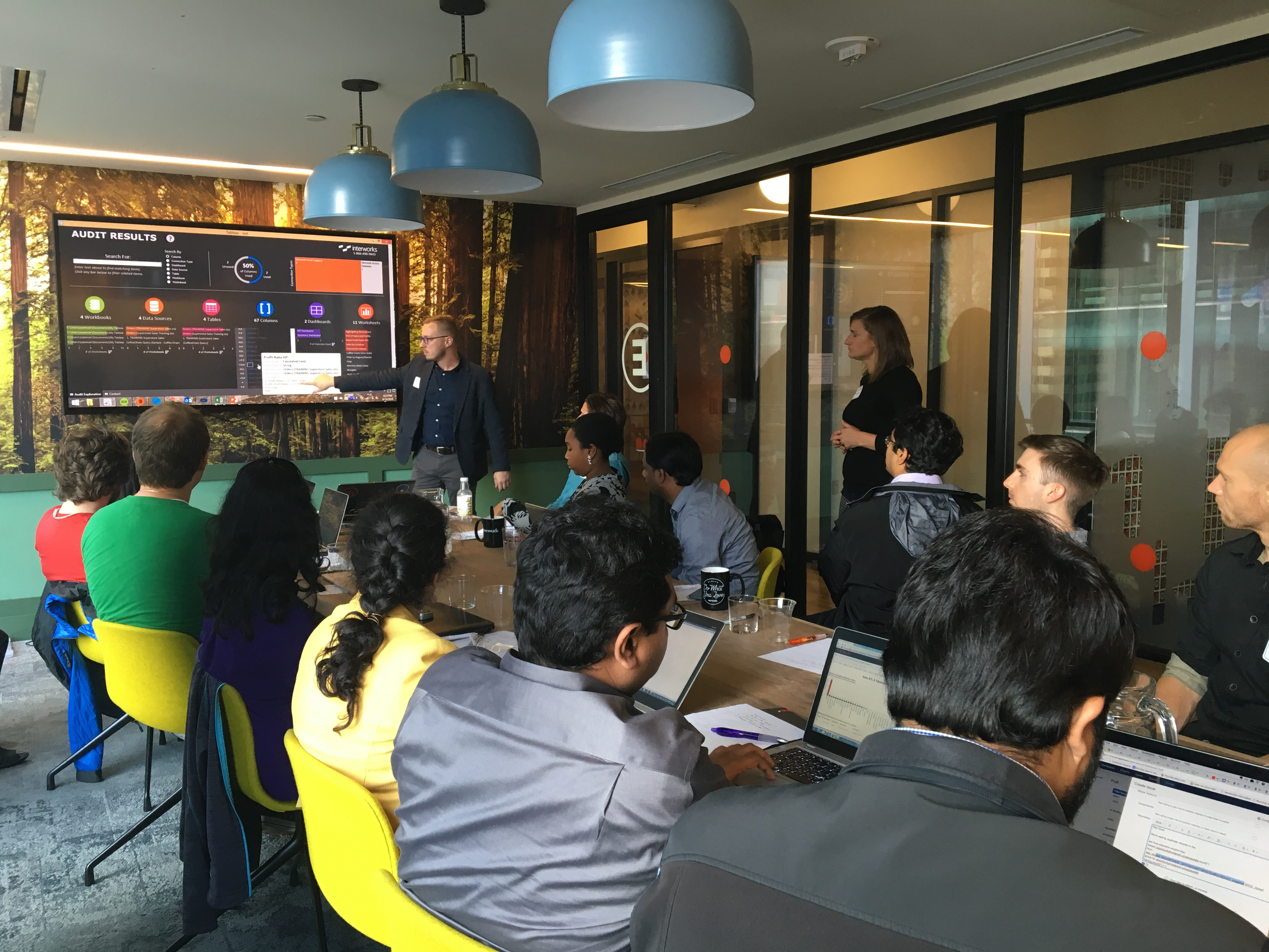 San Francisco workshop for internal Tableau Server training