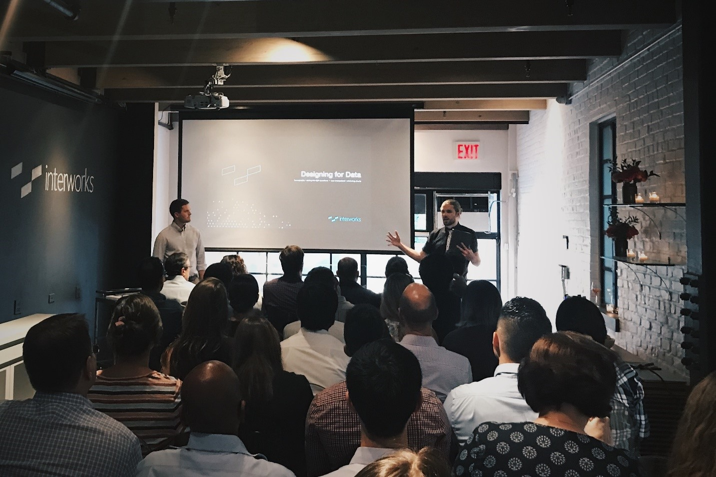 InterWorks designing for data event in New York City
