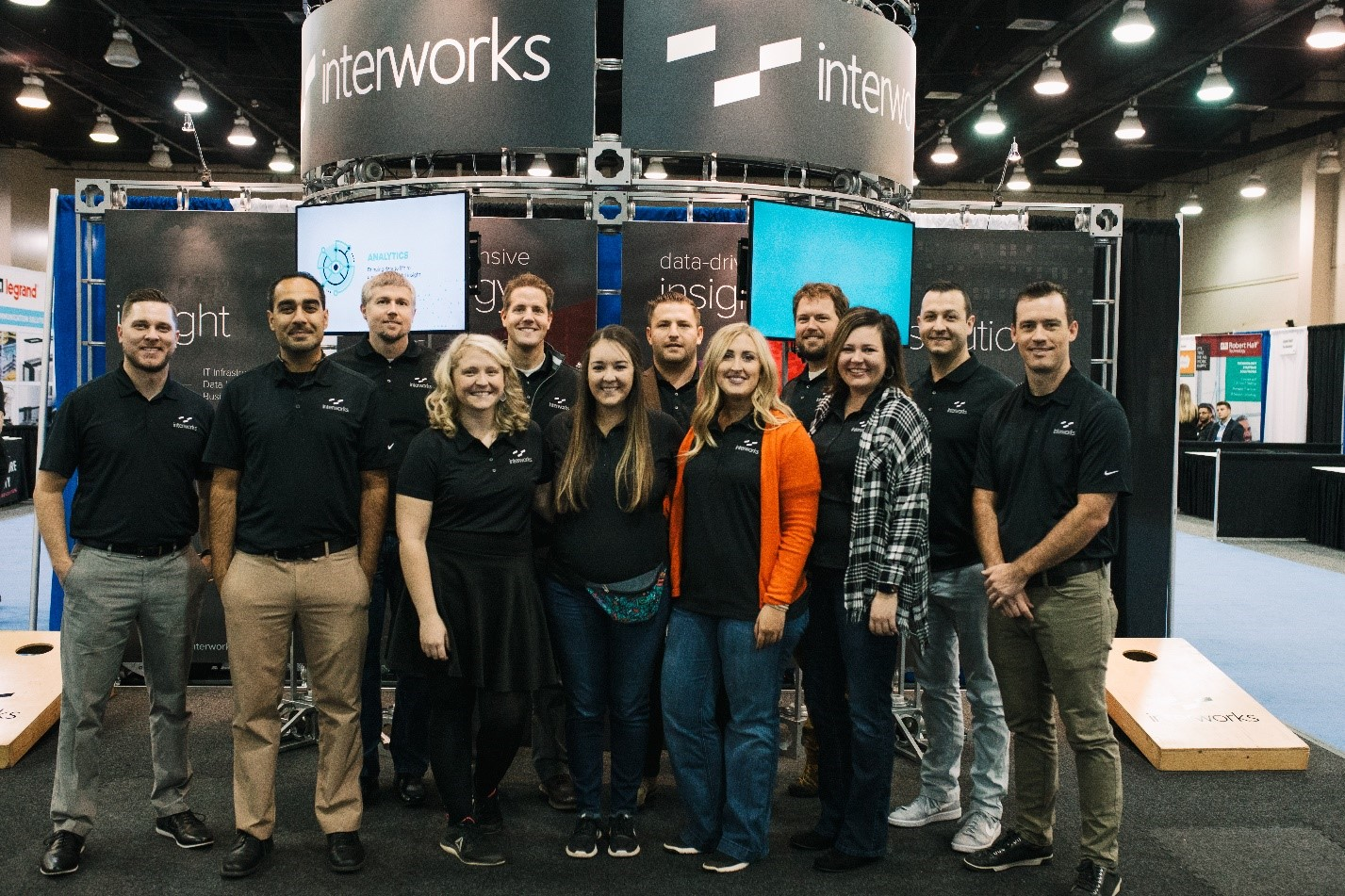 InnoTech 2018 InterWorks booth