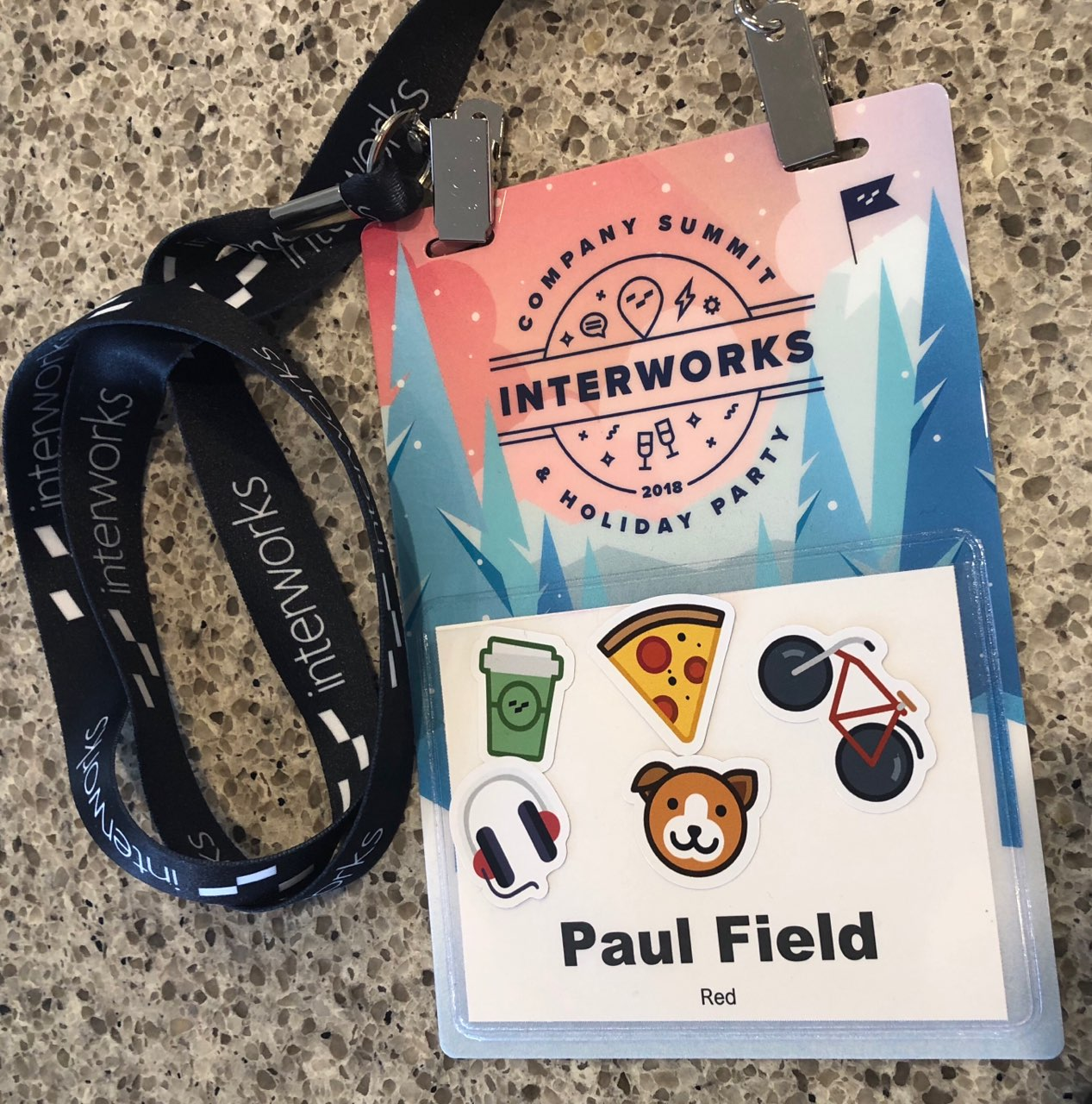 InterWorks Summit name badge