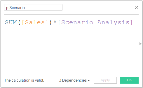 calculated field in Tableau