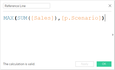 MAX calculated field in Tableau