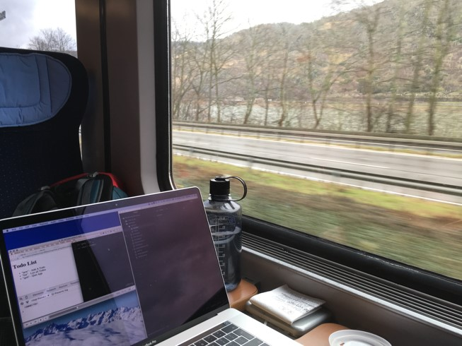 Digital Nomad remote commute