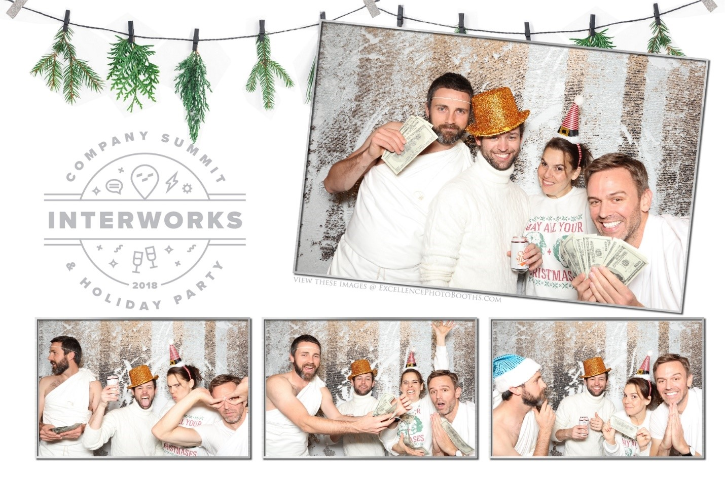 InterWorks remote employees at Holiday Party