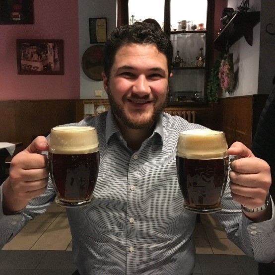 Carl digital nomad Czech Republic