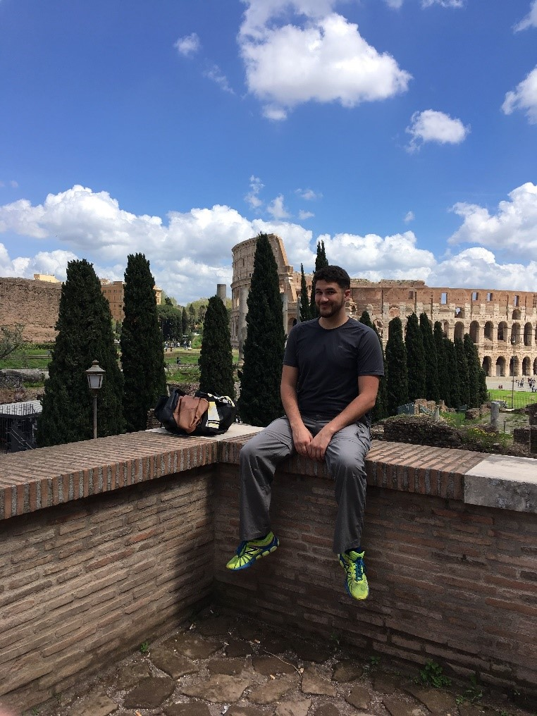 Carl digital nomad Rome