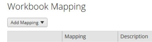 workbook mapping in Tableau