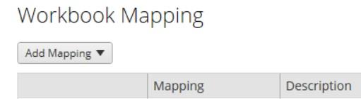 workbook mapping in Tableau