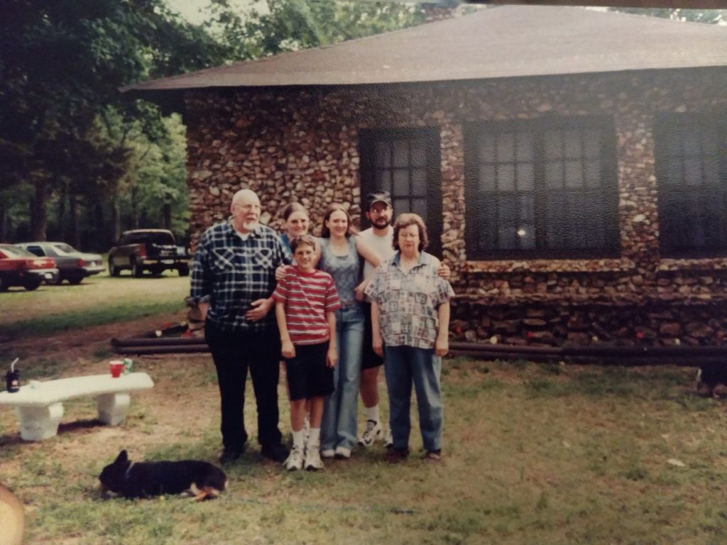 Carl and his family as he was growing up