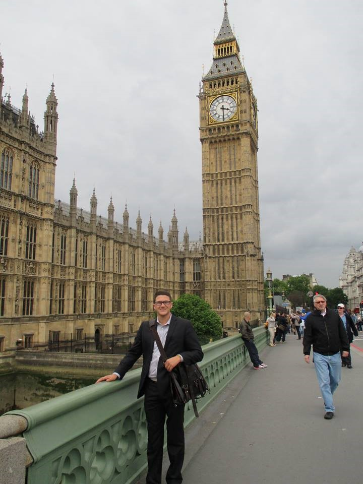 Carl during time in London