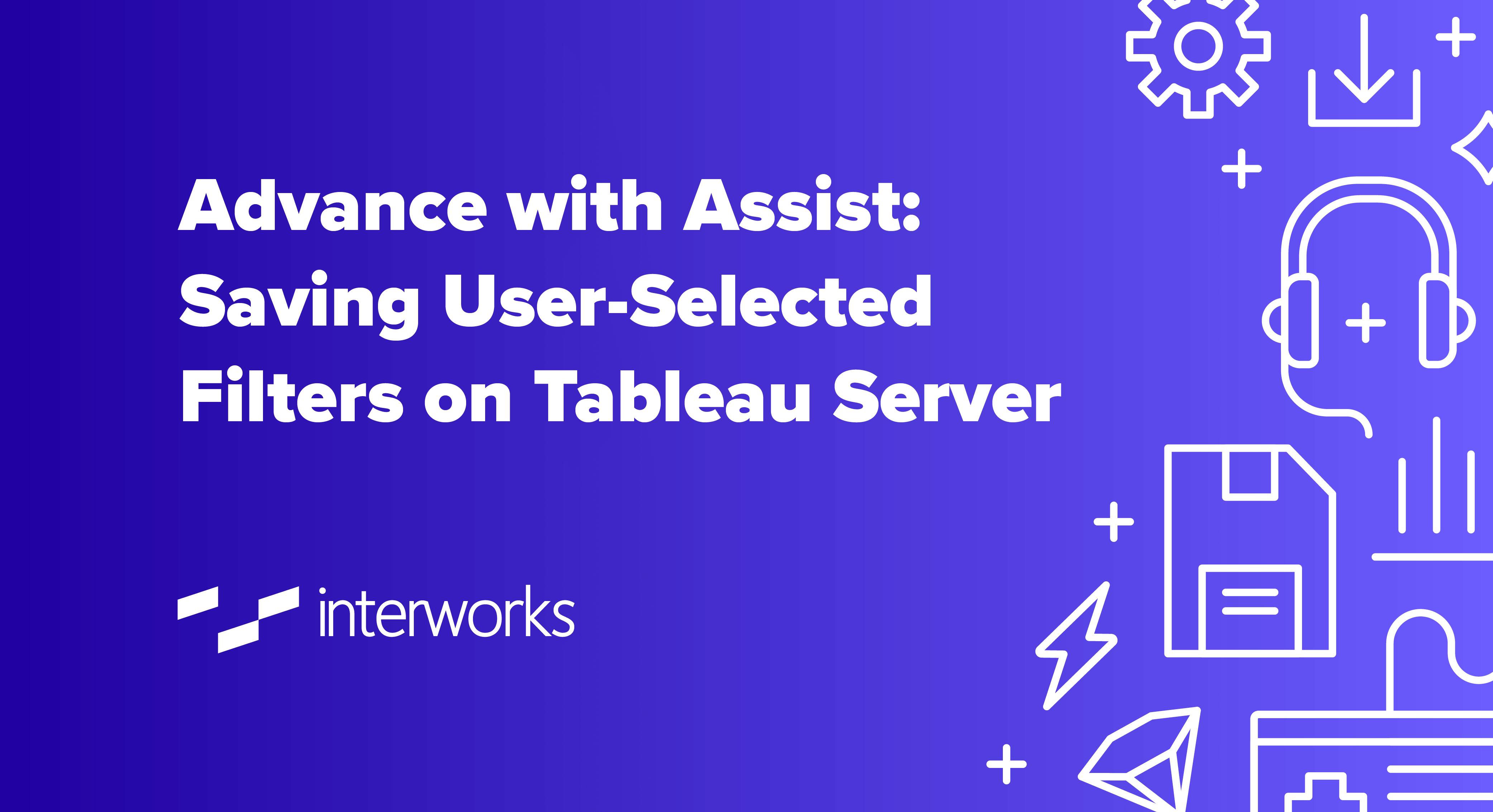 user-selected filters in Tableau Server