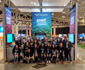 InterWorks booth at Tableau Conference 2018