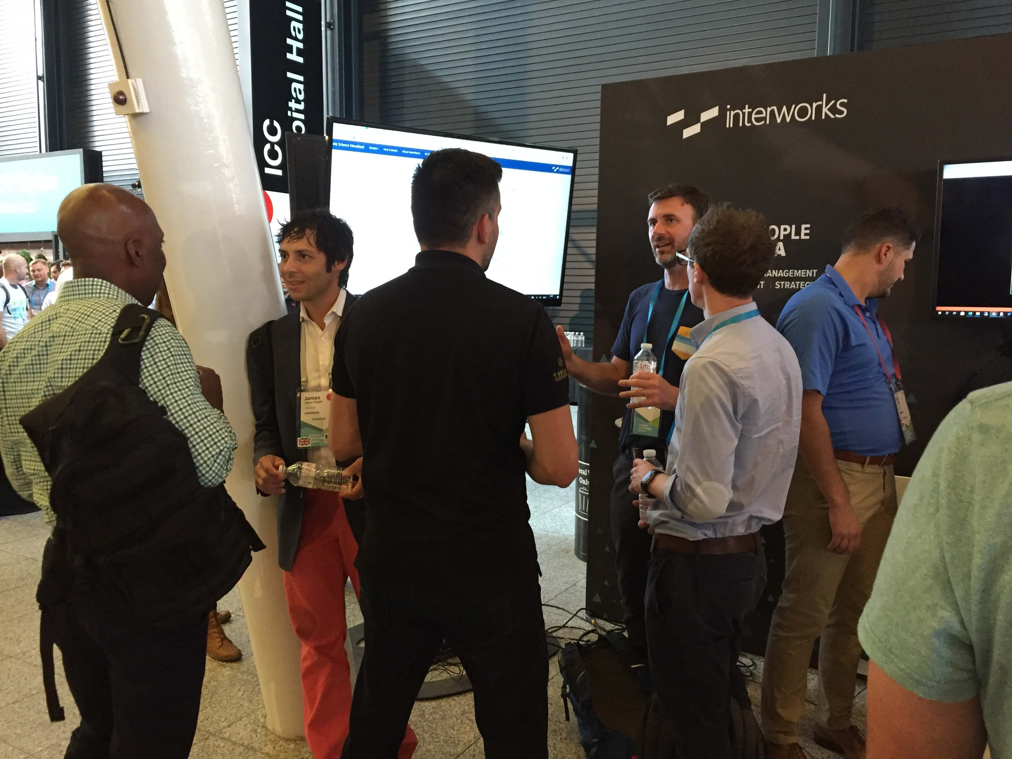 InterWorks booth at Tableau Conference Europe 2018