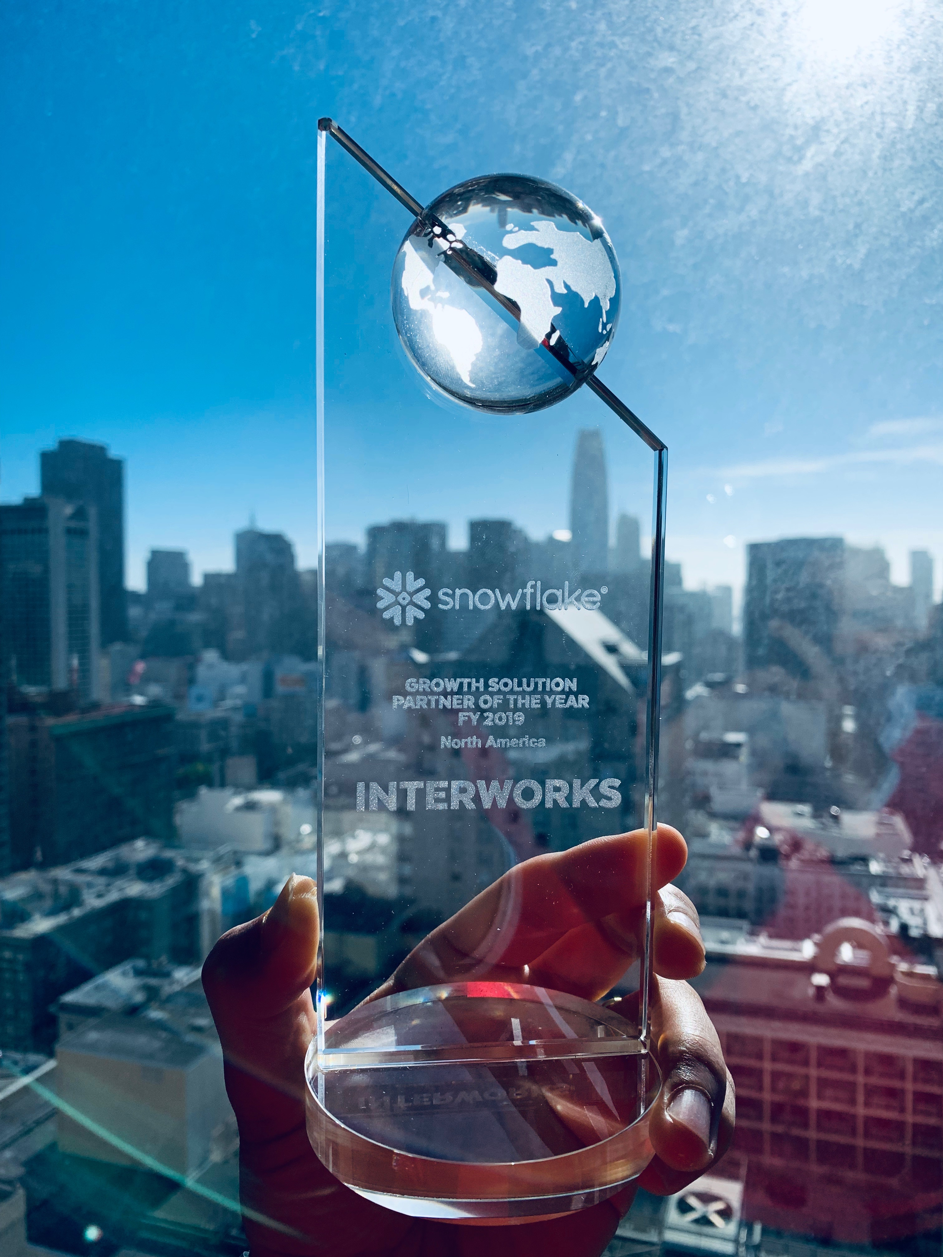InterWorks wins Snowflake Growth Solution Partner of the Year