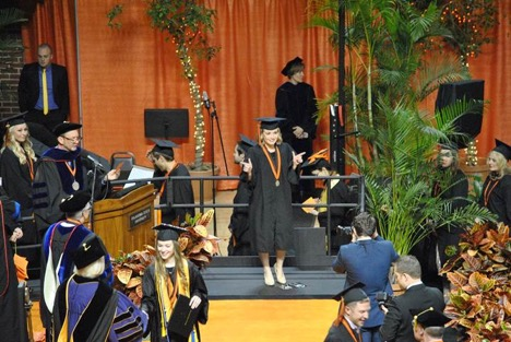 Karlee graduating Oklahoma State