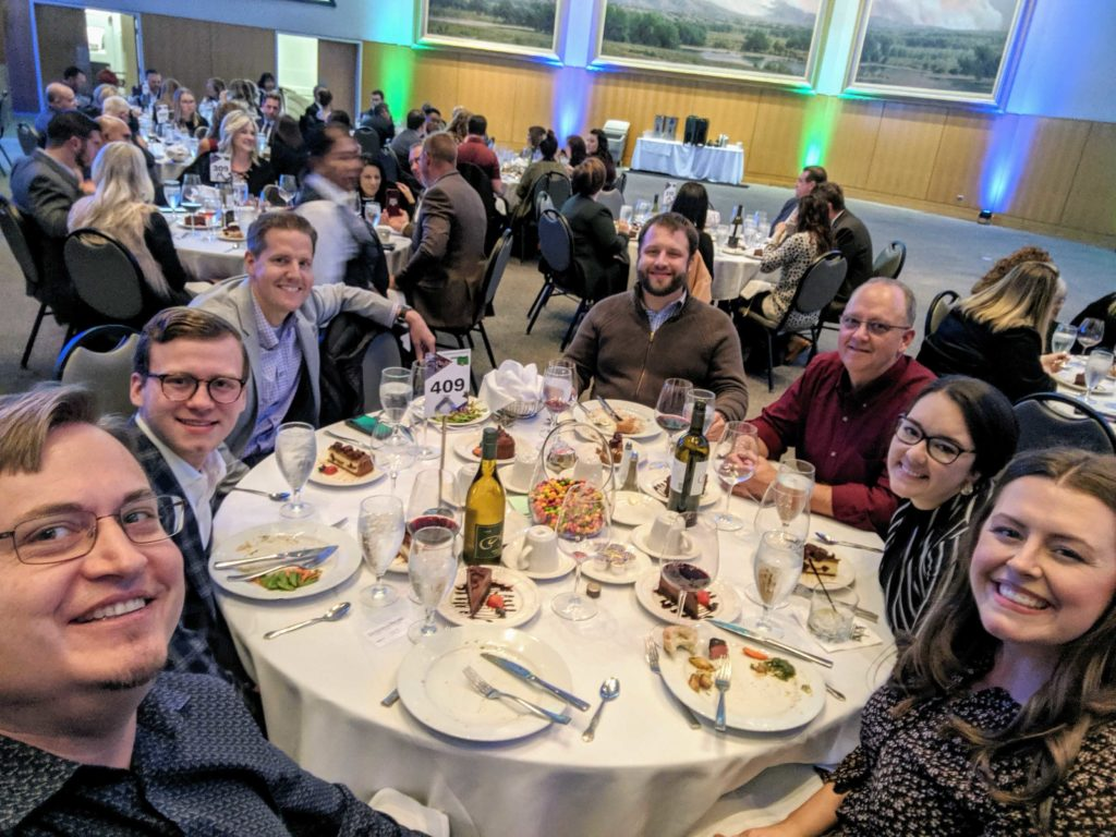 "InterWorks at the 2019 ""Best Places to Work in Oklahoma"" Banquet"