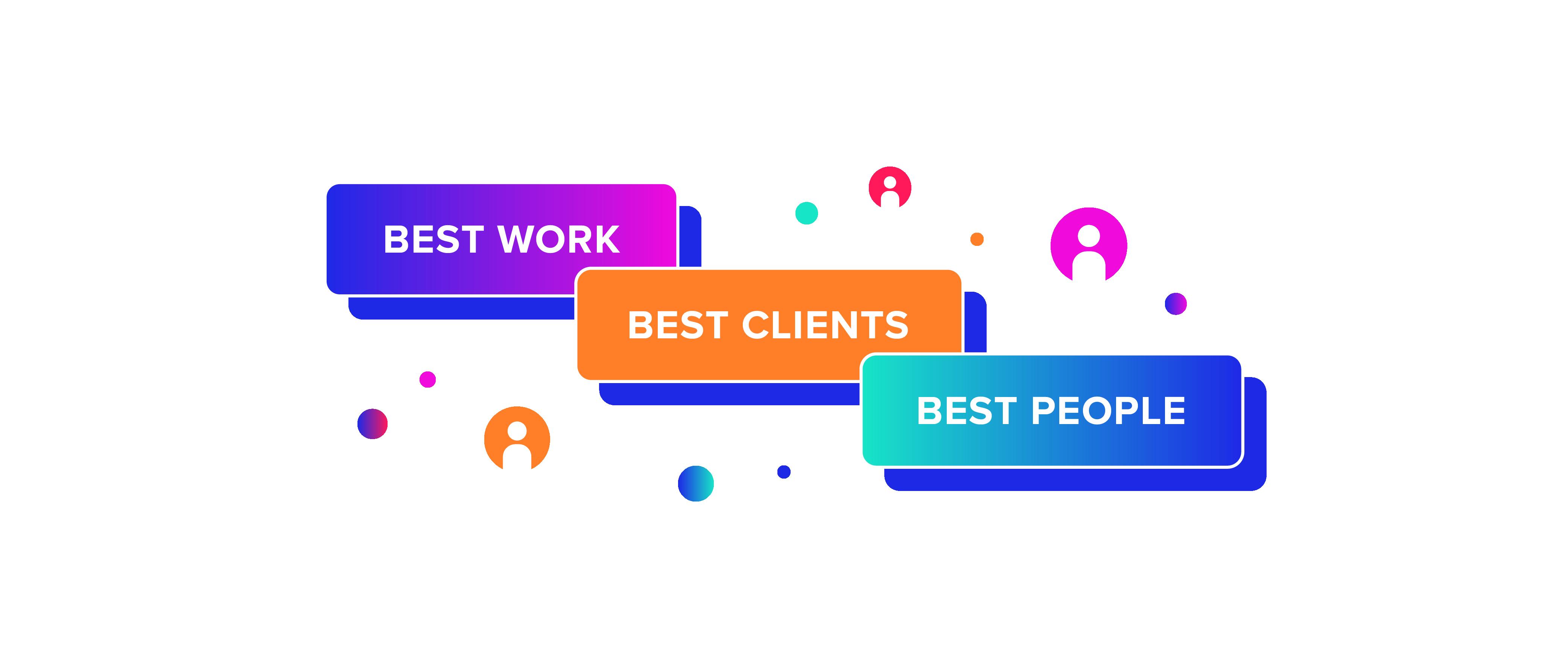 Best Work, Best Clients, Best People