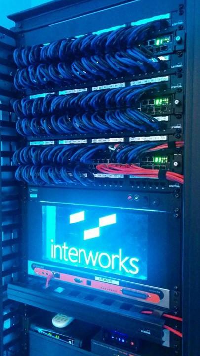 InterWorks server lights