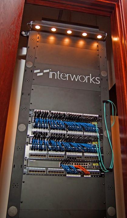 InterWorks server closet