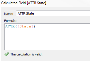 Calculated Field [ATTR State]