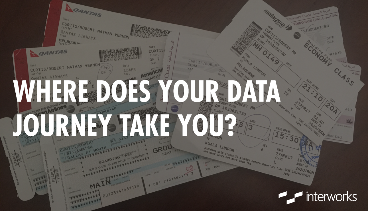 Data Journey, Airplane tickets, traveling