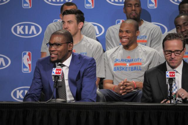 Kevin Durant MVP Press Conference